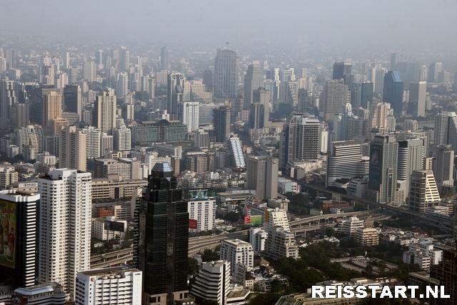Bangkok vanaf de Baiyoke Tower