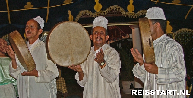 feest bij chez ali marrakech