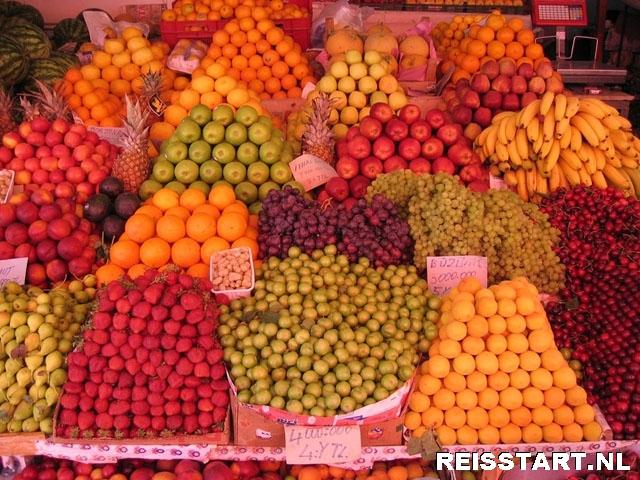Fruit kraam