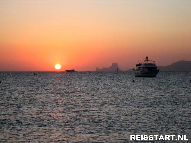 Zonsondergang Formentera
