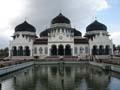 La Mezquita Grande, Baiturrahman, Banda Aceh