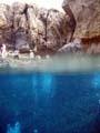 Half onderwater