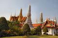 Paleis en de Wat Phra Kaeo