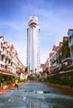 Phuket -Leuk gebouw voor een leuk uitzicht