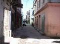 Straat in Mombasa