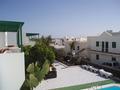 Uitzicht  uit ons huisje