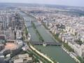 Vanaf de Eiffeltoren