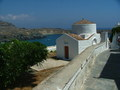 Kapel nabij de haven van Lindos