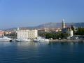 De haven van Split