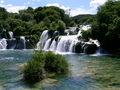 De Krka waterval bij Skradin