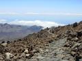 Lavawandelpad op de Teide