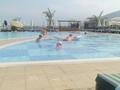 kinderzwembad aan het hotel