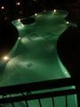 Laagst gelegen zwembad aan het hotel
