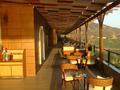 Gelijkvloers, het terras van de lobby