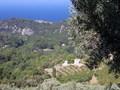 Berg dorpje Manolates