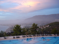 1 van de zwembaden hotel utopia