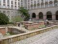 Overblijfselen van een romeins badhuis