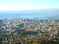 Uitzicht vanaf de Tafelberg.