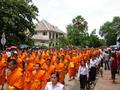 processie funeral chairman of Luang Prabang