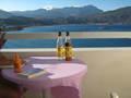 Balkon van Hotel in Karpathos