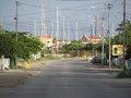 De hoofdweg van bonaire.