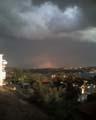Uitzicht regenboog