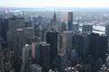 Empire state building, Uitzicht vanaf het Empire State Building, richting het Crysler Building