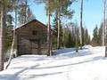 hutje in het bos