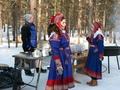 Klederdracht in Rovaniemi