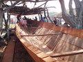 Vissersboot bouwen in Tanji