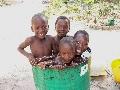 gambiaans zwem bad